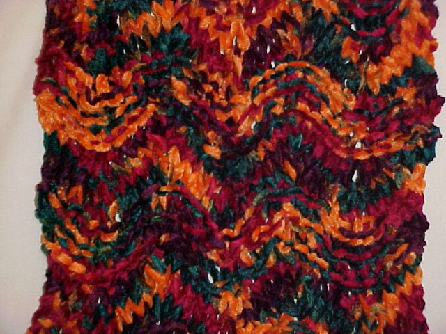 Closeup of Mamacita Scarf